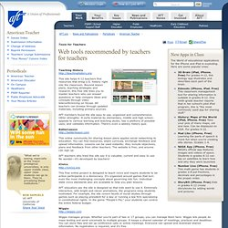 A Union of Professionals - Tools for Teachers