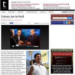 Unions Are in Peril
