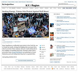 Major Unions Join Occupy Wall Street Protest
