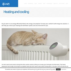 UniPi Heating and cooling - UniPi