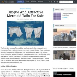Unique And Attractive Mermaid Tails For Sale