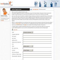 Unique content - Textbroker.com