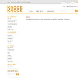 Foodie Flashcards - Learn to Speak Foodie with Knock Knock