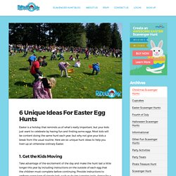6 Unique Ideas For Easter Egg Hunts