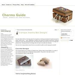 5 Unique Jewelry Box Designs