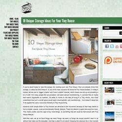 *10 Unique Storage Ideas For Your Tiny House