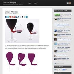 Unique Wineglass