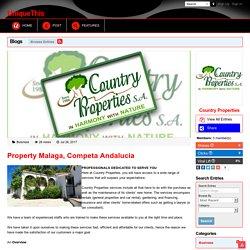 Property Malaga, Competa Andalucia