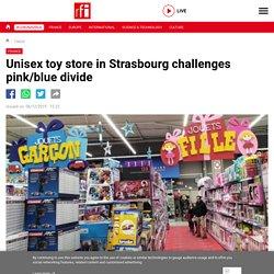 Unisex toy store in Strasbourg challenges pink/blue divide