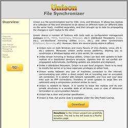 Unison File Synchronizer