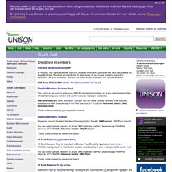 UNISON South East | the public service union