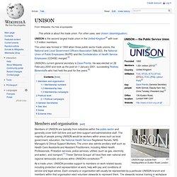 UNISON - wikipedia