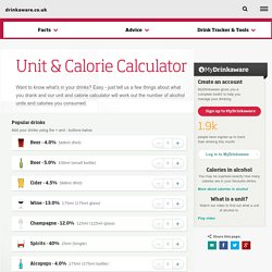 Unit and Calorie Calculator