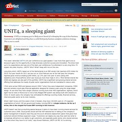 UNIT4, a sleeping giant