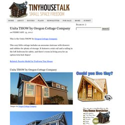 Unita THOW by Oregon Cottage Company