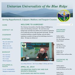 Unitarian Universalists of the Blue Ridge