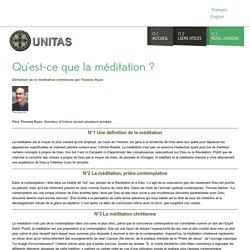 Unitas Meditation - Montréal