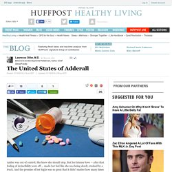 The United States of Adderall