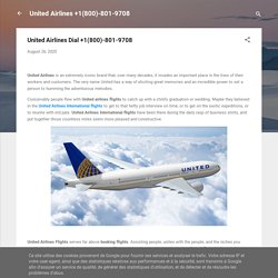 United Airlines Dial +1(800)-801-9708