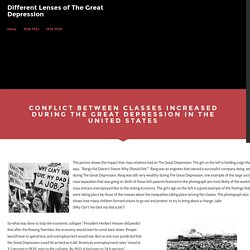 United States - Different Lenses of The Great Depression