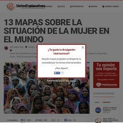 13 mapas sobre la situación de la mujer en el Mundo