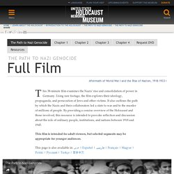 Full Film — United States Holocaust Memorial Museum