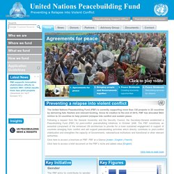 United Nations Peacebuilding Fund