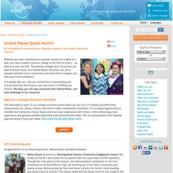 United Planet Volunteer Abroad Alumni