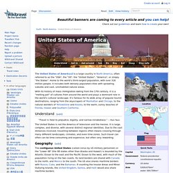 United States of America travel guide