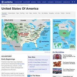 US Map / USA Map / United States Map - Maps and Information about the United States