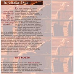 United States of Poetry: The American Dream