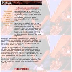 United States of Poetry: Portraits