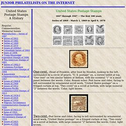 United States Postage stamps. History