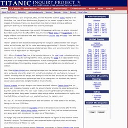 Titanic Inquiry Project - Electronic copies of British and American inquiries into the disaster