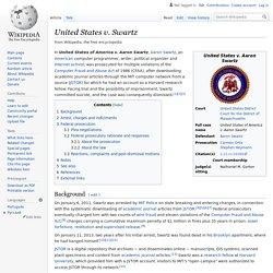 United States v. Swartz