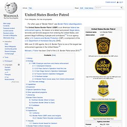 United States Border Patrol - Wiki