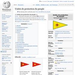YPG Unités de protection du peuple
