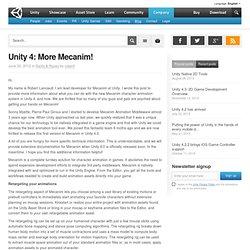 Unity 4: More Mecanim!