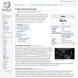 Unity (moteur de jeu)