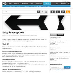 Unity Blog - A glimpse inside Unity Technologies…