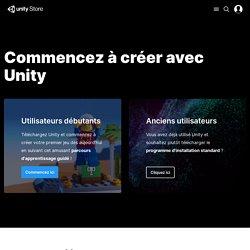 Store - Débutez avec Unity