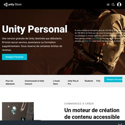 Unity Store - Unity Personal