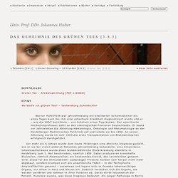 Univ.prof. DDr. Johannes Huber - Grüner Tee [3.8.3]
