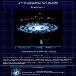 L'Univers jusqu'à 50000 Années lumière - La Voie Lactée