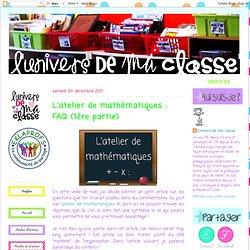 L'atelier de mathématiques : FAQ (1ère partie)