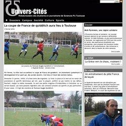 UNIVERS-CITÉS - La coupe de France de quidditch aura lieu à Toulouse