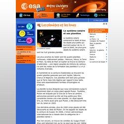 ESA - Space for Kids - Notre Univers - Le système solaire et ses planètes