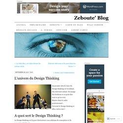 L'univers du Design Thinking