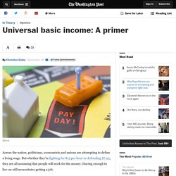 Universal basic income: A primer