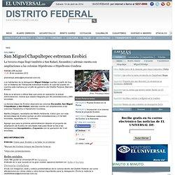 San Miguel Chapultepec estrenan Ecobici